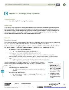 Printables Radical Equation Review Worksheet Match Up radical equations lesson plans worksheets reviewed by teachers solving equations