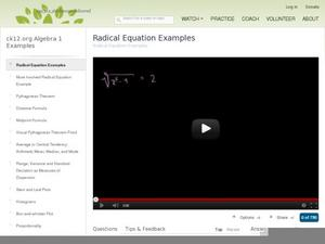 Printables Radical Equation Review Worksheet Match Up radical equations lesson plans worksheets reviewed by teachers solving rational equations