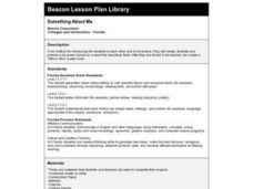 Something About Me Lesson Plan