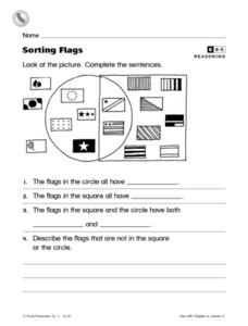 Sorting Flags Worksheet
