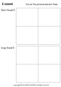 Sound Sort Worksheet