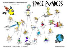 Space Evaders: Feelings Worksheet