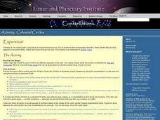 Space Science: Constellations and the Sun Lesson Plan