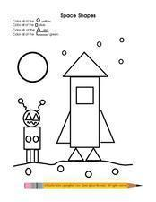 Space Shapes Lesson Plan