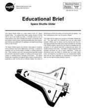 Space Shuttle Glider Lesson Plan