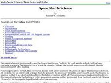 Space Shuttle Science Lesson Plan
