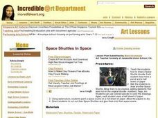 Space Shuttles in Space Lesson Plan
