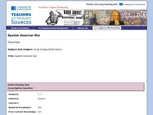 Spanish-American War Lesson Plan