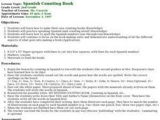 Spanish Counting Book Lesson Plan