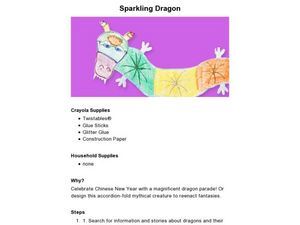 Sparkling Dragon Lesson Plan