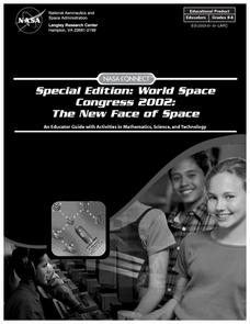Special Edition: World Space Congress 2002: The New Face of Space Lesson Plan