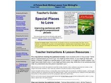 Special Places to Love Lesson Plan