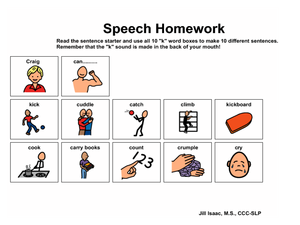 Speech makeing homework help