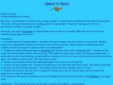 Speed to Read  Lesson Plan