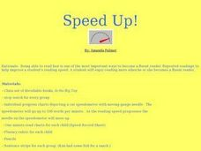 Speed Up! Lesson Plan