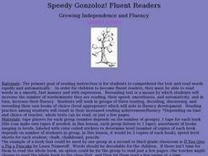 Speedy Gonzoloz! Lesson Plan