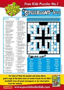 Spellbound No. 2 Worksheet