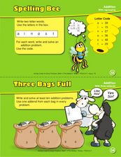 Spelling Bee: Addition Worksheet