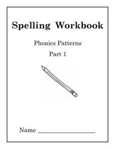 spelling workbook phonics patterns kindergarten 2nd grade worksheet lesson planet. Black Bedroom Furniture Sets. Home Design Ideas