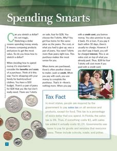 Spending Smarts Worksheet