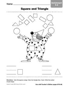 Square and Triangle: Enrichment Worksheet