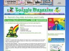 St. Patrick's Day and Leprechauns Lesson Plan