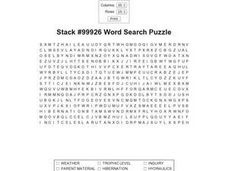 Stack #99926 Word Search Worksheet