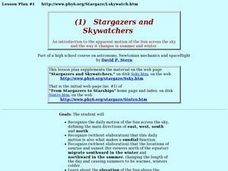 Stargazers And Skywatchers Lesson Plan