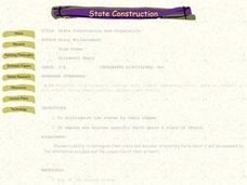 State Construction and Cooperation Lesson Plan