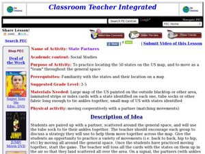 State Partners Lesson Plan