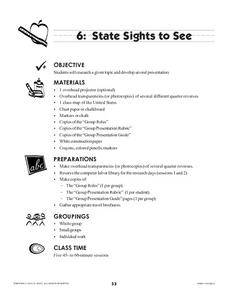 State Sights to See Lesson Plan
