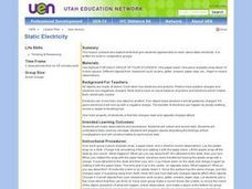 Static Electricity Experiments Lesson Plan