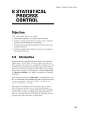 Statistical Process Control Worksheet