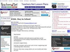Stay in School Lesson Plan