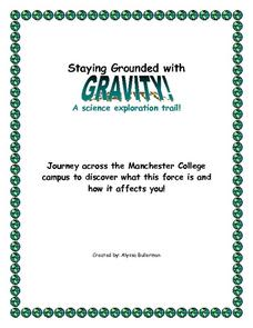 Staying Grounded with Gravity: A Science Exploration Trail Worksheet