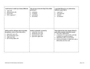 Stem Cells Worksheet Tes - The Best and Most Comprehensive Worksheets