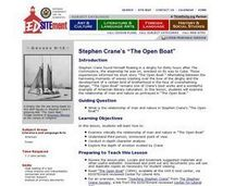 Stephen Crane: The Open Boat Lesson Plan