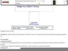 Steps to a Short Story Lesson Plan