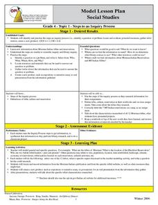 Steps To An Inquiry Process Lesson Plan