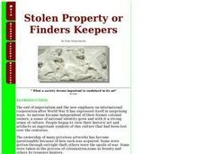 Stolen Property or Finders Keepers Lesson Plan