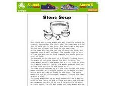 Stone Soup: Acting Out the Story Worksheet
