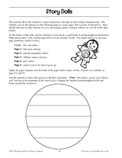 Story Dolls Lesson Plan
