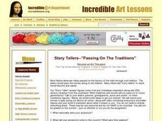 "Story Tellers - ""Passing on the Traditions"" Lesson Plan"