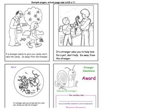 Stranger Danger Worksheet