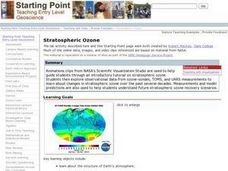 Stratospheric Ozone Lesson Plan