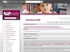 Strawberry Milk Lesson Plan