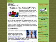 Stress and the Immune System Lesson Plan