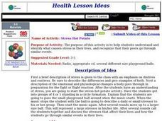 Stress Hot Potato Lesson Plan