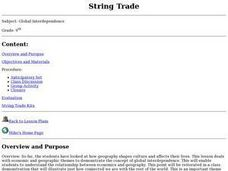 String Trade Lesson Plan