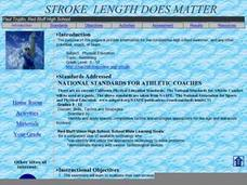 Stroke Length Does Matter Lesson Plan